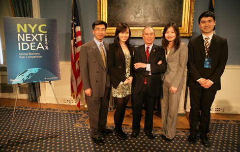 ReFleX Team wins 1st place at NYC Next Idea Competition 2011